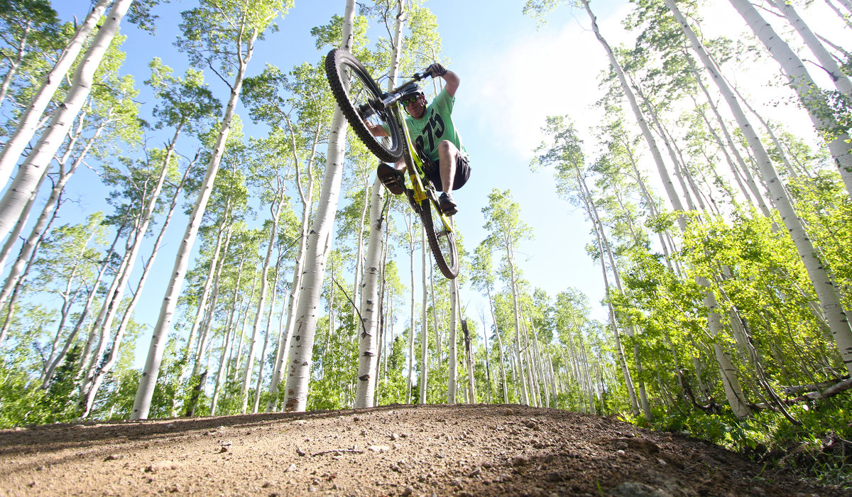 Experience the Thrill of Downhill Mountain Biking at Deer Valley 2