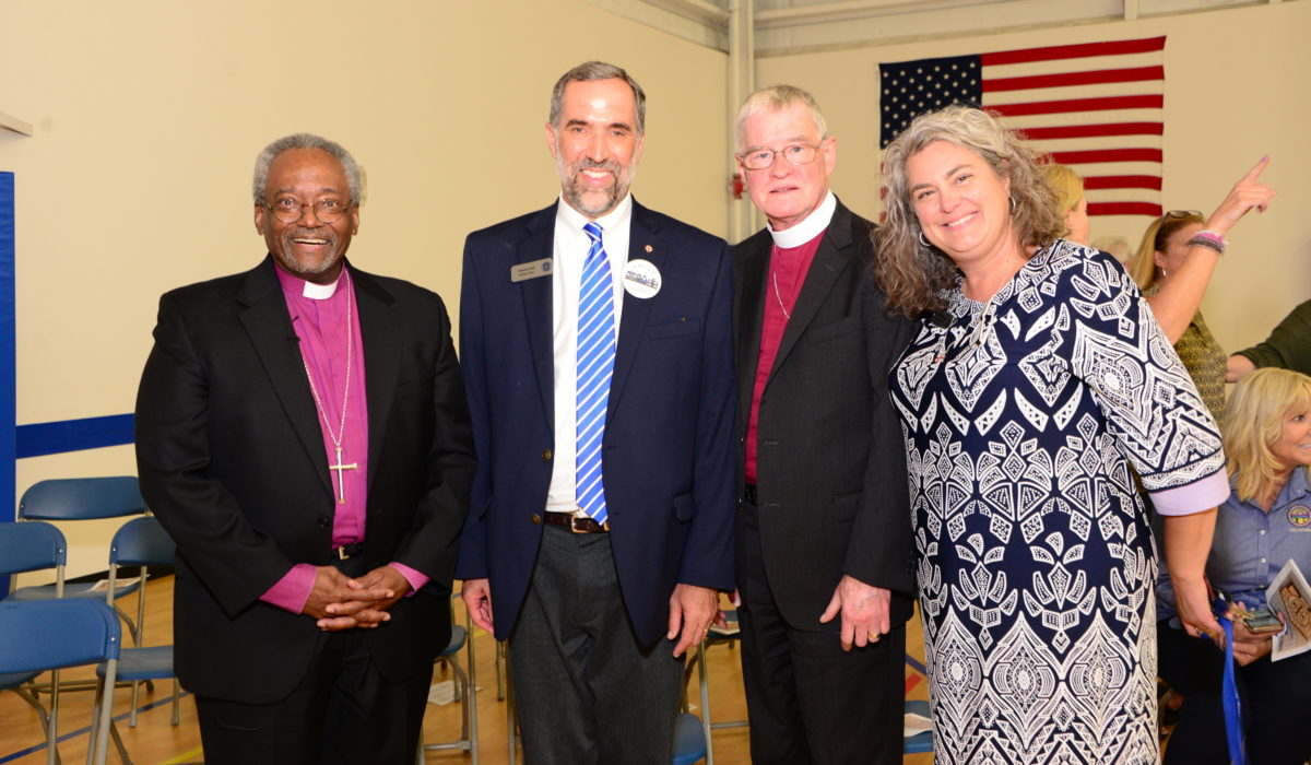 Bishop's Visit and Blessing at Bethany School 1