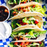 Sweet Potato Tacos with Red Cabbage Slaw 1