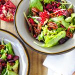 Warm Winter Beet and Pomegranate Salad 4