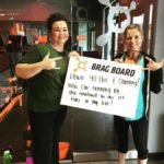 Orange Theory Fitness Brag Board
