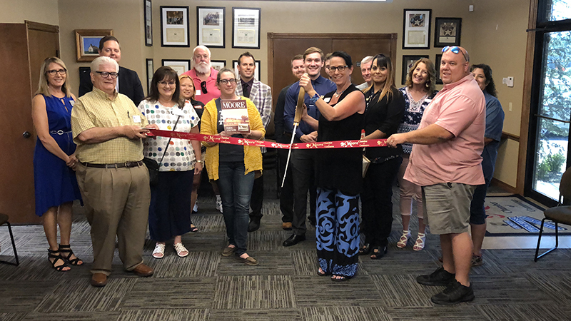 Moore Chamber Ribbon Cuttings 1