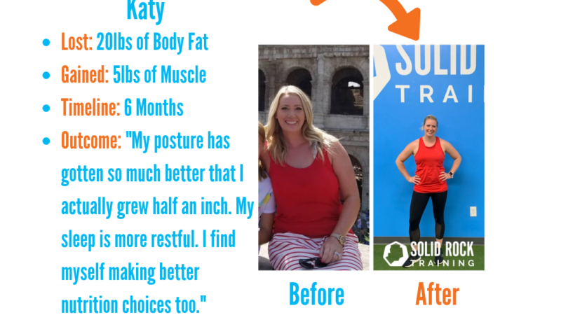 """Solid Rock Training's """"Before and Afters"""" 1"""