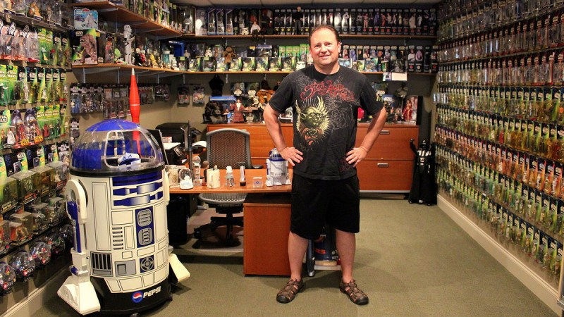 Feel the Force of Buckhead Exec's Man Cave