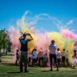 ICAN 5k Color Dash Raises Money in a Colorful Way