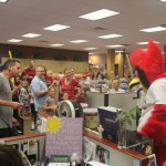 Fred Bird Visits Coldwell Banker Gundaker Town & Country 8