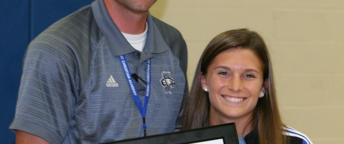 SCA Names Madison Sallas as 2015 Eagle Award Recipient