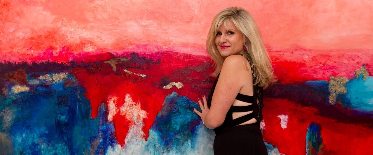 The Colorful, Contemporary Art of Georgeana Ireland 6