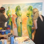 The Colorful, Contemporary Art of Georgeana Ireland 5