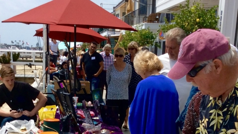 21st Annual Balboa Island Artwalk 5