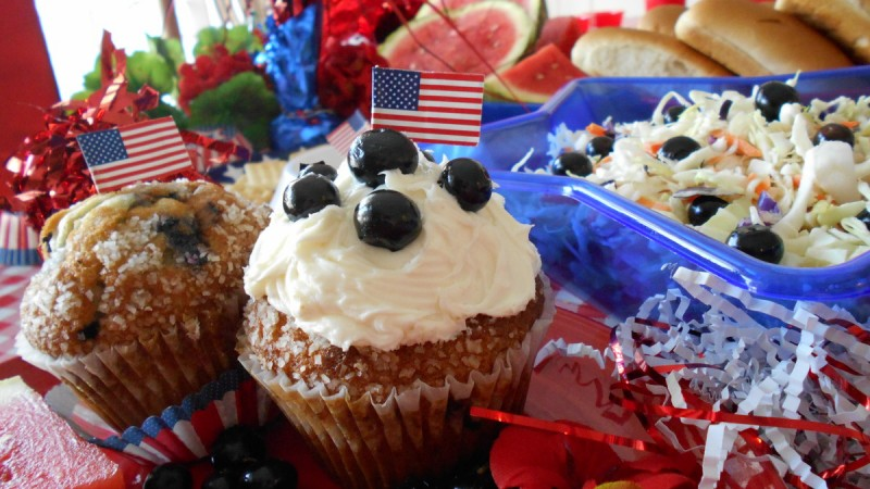 Red, White & Blueberries!