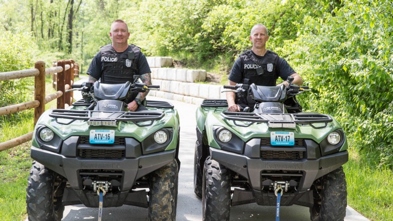 The Boys in Blue: KCPD ATV Unit Is on the Call 8