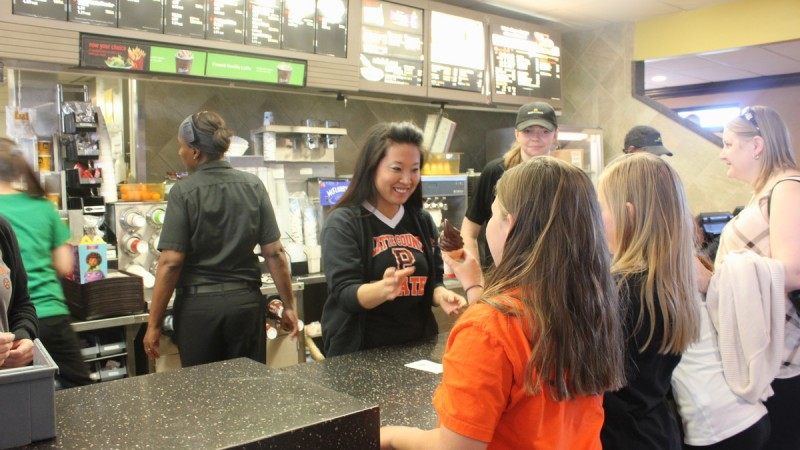 3rd Annual McTeacher's Night at McDonald's 6