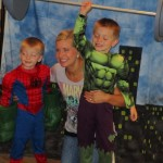 Mother/Son Superhero Party 1