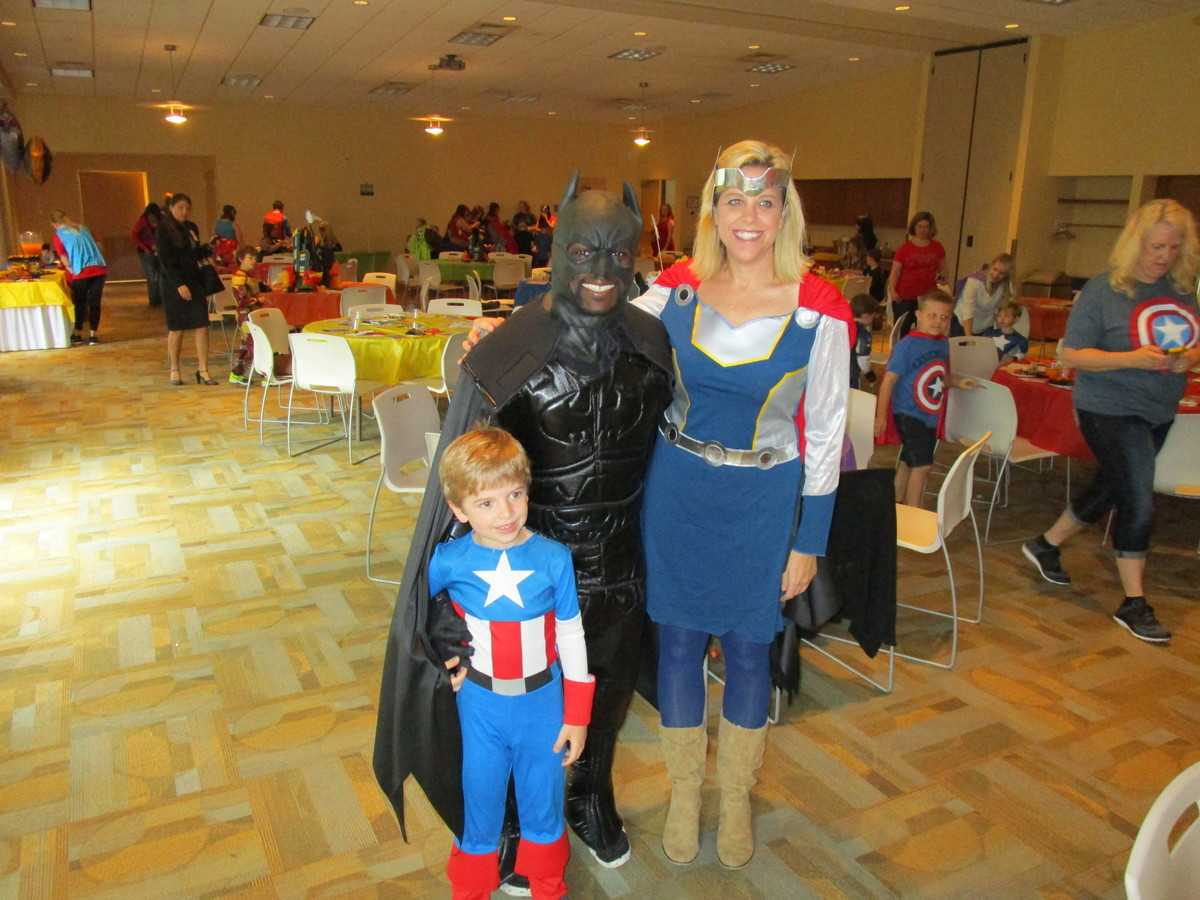 Mother/Son Superhero Party 4