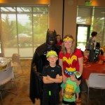 Mother/Son Superhero Party 3