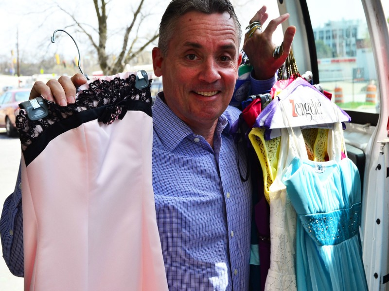 Prom Gowns and the Glass Slipper Project 3